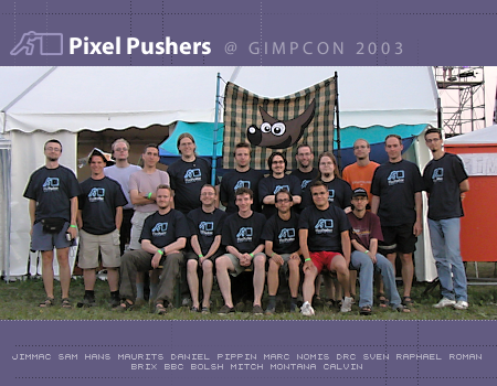Last year's GIMP Conference